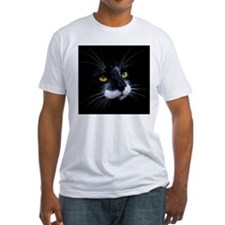 Black and White Cat Face Shirt