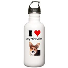 I Love my Tricolor Cor Water Bottle