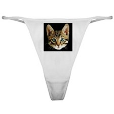 Kitty Face Classic Thong