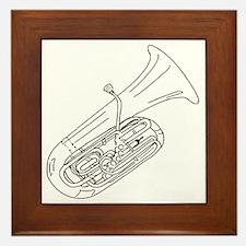 tuba-3 Framed Tile
