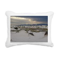 White Sands Rectangular Canvas Pillow