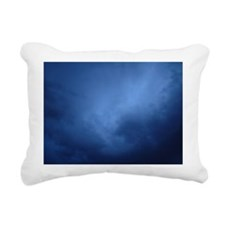Stormy Sky Over New Mexi Rectangular Canvas Pillow