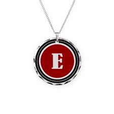 Red E Necklace