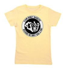Team Honey Badgers Round Girl's Tee