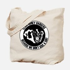 Team Honey Badgers Round Tote Bag