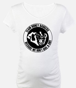 Team Honey Badgers Round Shirt