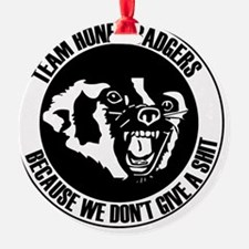 Team Honey Badgers Ornament