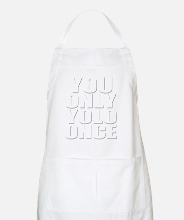 You Only YOLO Once Apron