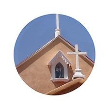 """NM Church 3.5"""" Button"""