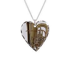 tuba-3 Necklace Heart Charm