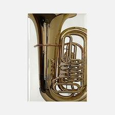 tuba-3 Rectangle Magnet