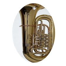 tuba-3 Oval Ornament
