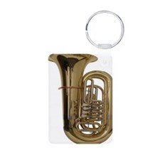 tuba-3 Aluminum Photo Keychain