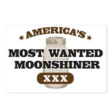 Most Wanted Moonshiner Postcards (Package of 8)