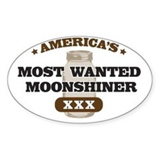Most Wanted Moonshiner Decal