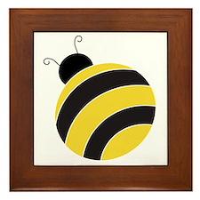 Mr. Bumble Bee Framed Tile