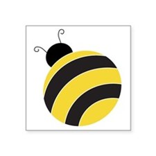 "Mr. Bumble Bee Square Sticker 3"" x 3"""