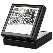 Gone Squatchin *Winter Woods Edition* Keepsake Box