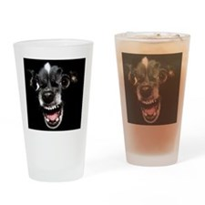 Vicious chihuahua Drinking Glass