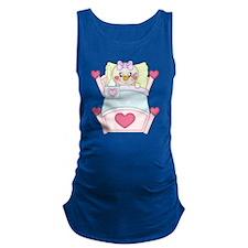 Get Well Soon Miss Snowman Maternity Tank Top