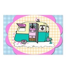 lil vintage trailer Postcards (Package of 8)