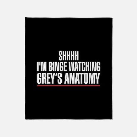Grey's Anatomy Shhh I'm Binge Watching Grey's