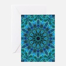Underwater Beauty - mandala Greeting Card
