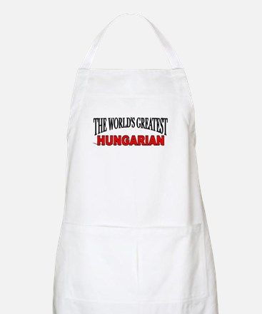 """""""The World's Greatest Hungarian"""" BBQ Apron"""