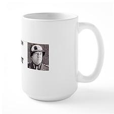 Patton for president bumper sticker Mug