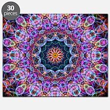 Purple Lotus Kaleidoscope Puzzle