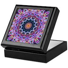 Purple Lotus Kaleidoscope Keepsake Box