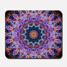 Purple Lotus Kaleidoscope Mousepad