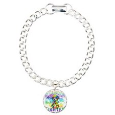 My Grandson Is A Fighter Charm Bracelet, One Charm