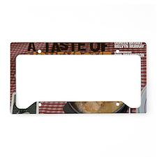 A Taste Of Honeycomb License Plate Holder