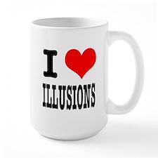 I Heart (Love) Illusions Mug