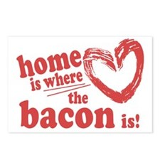 Home is where the Bacon i Postcards (Package of 8)