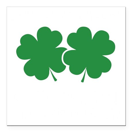 """luckyCharmssTouch1B Square Car Magnet 3"""" x 3"""""""