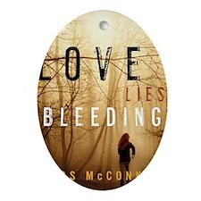 Love Lies Bleeding Cover Oval Ornament