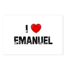 I * Emanuel Postcards (Package of 8)