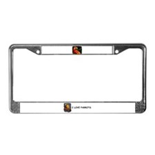 BEAUTIFUL PARROT License Plate Frame