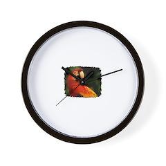 BEAUTIFUL PARROT Wall Clock