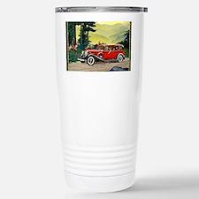 9 SEPT LA SALLE V-8 Stainless Steel Travel Mug
