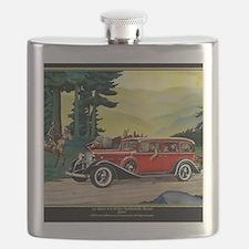 9 SEPT LA SALLE V-8 Flask