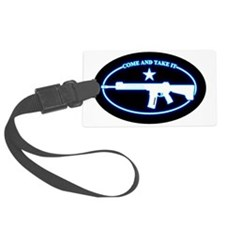Oval - Come and Take It (BlueGlo Luggage Tag