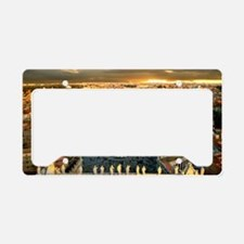 St Peters Square License Plate Holder