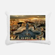 St Peters Square Rectangular Canvas Pillow