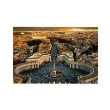 St Peters Square Rectangle Magnet