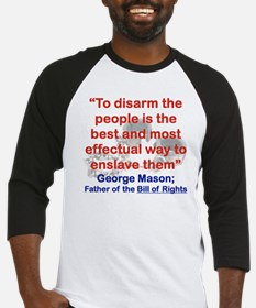 TO DISARM THE PEOPLE IS THE BEST A Baseball Jersey
