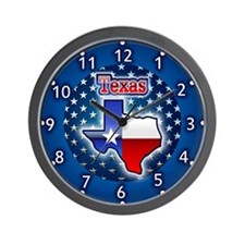 Texas clocks Wall Clock