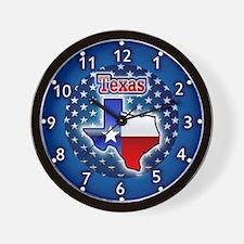 Texas clocks Wall Clock